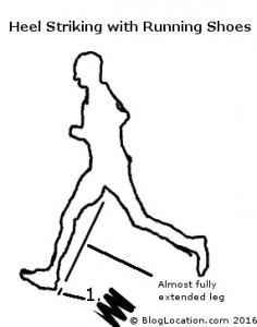 Heel Striking With Running Shoes